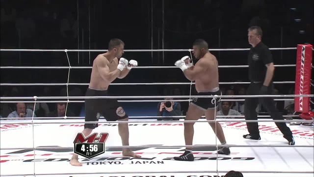 Роджент Ллорет vs Суфьян Элгарн, M-1 Challenge 14