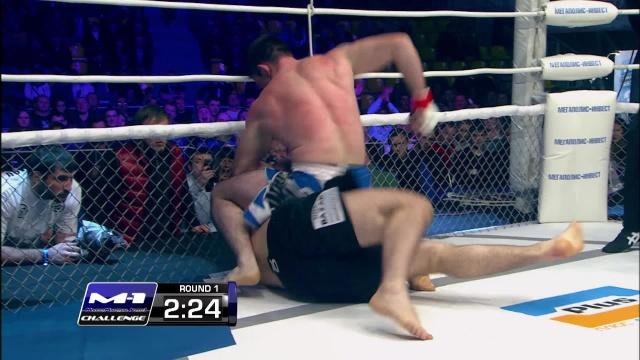 Муслим Махмудов vs Энвер Салхдинов, M-1 Challenge 44