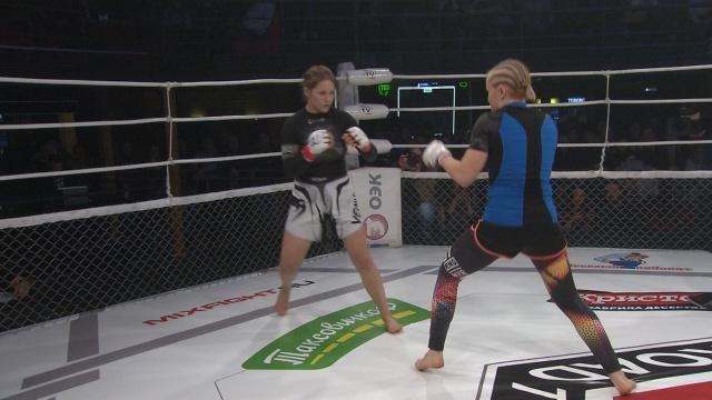 Анна Руденко vs Ольга Власова, Road to M-1 - Saint Petersburg