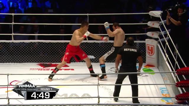 Бек Умаров vs Шавкат Рахмонов, M-1 Challenge 48