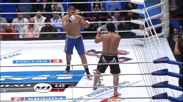 Ниязи Сафаров vs Денис Смолдарев, M-1 Challenge 29