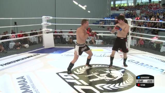 Флориан Стан vs Муслим Ахмадов, Road to M-1: Germany