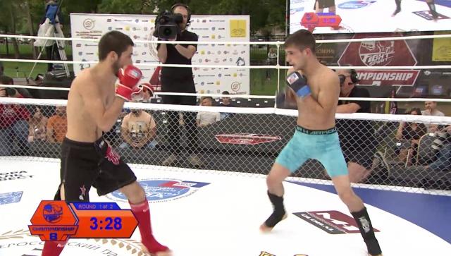 Исмаил Атабиев vs Ахмед Гамзатов, Fightspirit Championship 8
