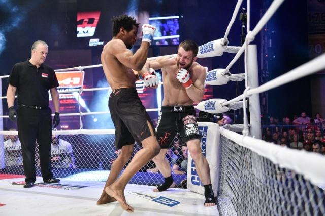 Мансур Барнауи vs Максим Дивнич, M-1 Challenge 57