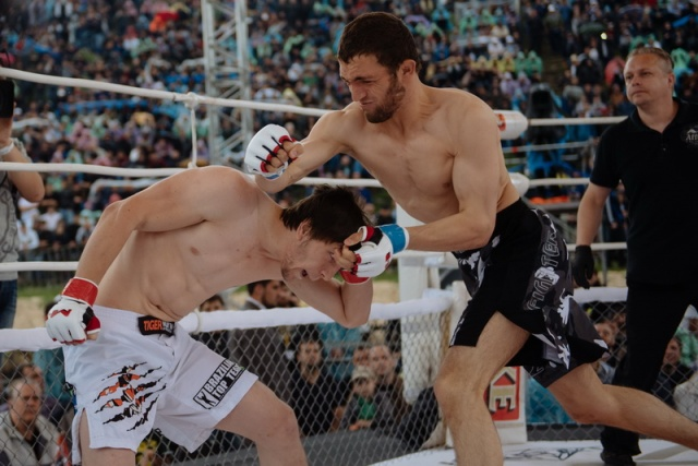 Бахтиер Ибрагимов vs Адам Цуров, M-1 Challenge 58