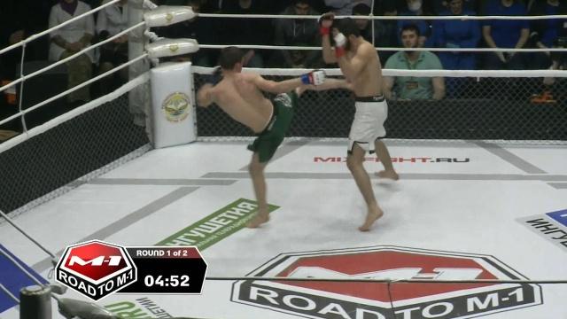 Тамерлан Исиев vs Руслан Марзиев, Road to M-1