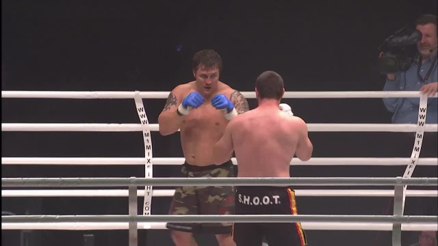 Роман Зенцов vs Даниэль Табера, M-1 Challenge 02