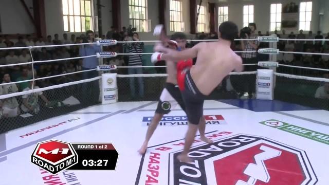 Заур Каиров vs Мурад Талдиев, Road to M-1: Ingushetia 4