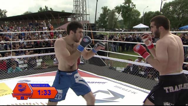Магомед Гунашов vs Артур Алиев, Fightspirit Championship 8