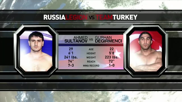 Ахмед Султанов vs Гурхан Дегирменси, M-1 Challenge 18