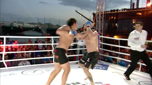 Ярно Нурминен vs Кирилл Сидельников, M-1 Challenge 04