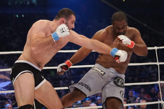 Кенни Гарнер vs Гурам Гугенишвили, M-1 Challenge 36