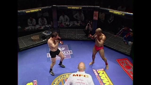 Азред Телькушеев vs Шони Картер, M-1 MFC - Middleweight GP