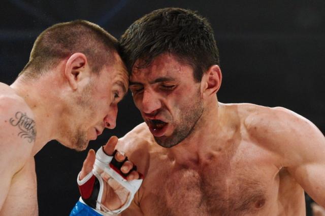Хавьер Фуэнтес vs Николай Каушанский, M-1 Challenge 56