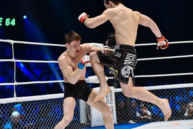 Тимур Нагибин vs Андрей Лежнев, M-1 Challenge 64
