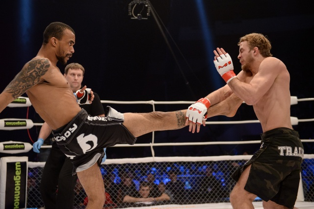 Павел Витрук vs Клэйтон Сантос, M-1 Challenge 46