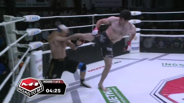 Максим Сорока vs Ингисхан Оздоев, Road to M-1: Ingushetia 4