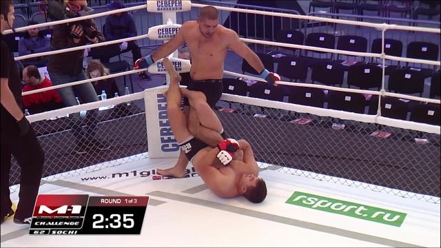 Борис Полежай vs Алексей Шопин, M-1 Challenge 62