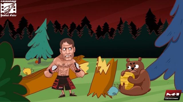 "Мультфильм ""Битва в Тайге"". M-1 Challenge 70 Animated Promo"