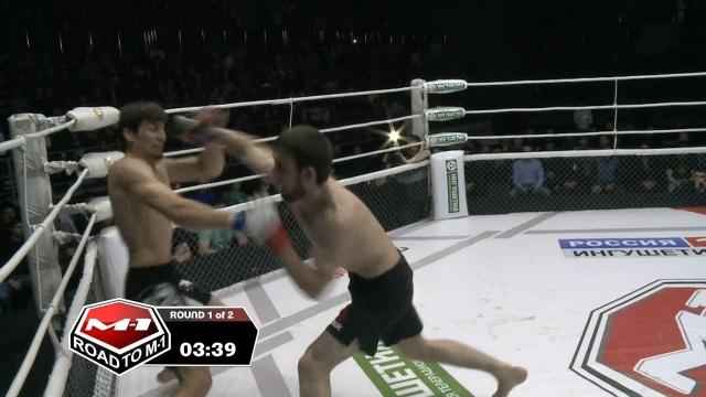Хамзат Дадаев vs Али Албогачиев, Road to M-1