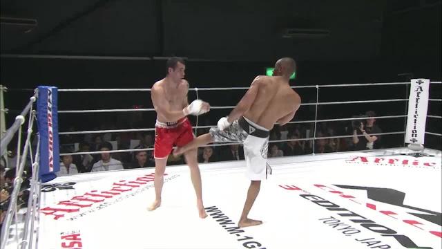 Абнер Льоверас vs Гаэль Гримо, M-1 Challenge 14