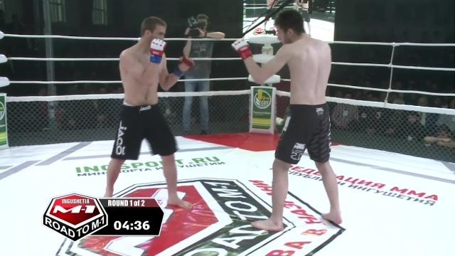 Magomedemin Miatliev vs Akhmed Ozdoev, Road to M-1: Ingushetia 3