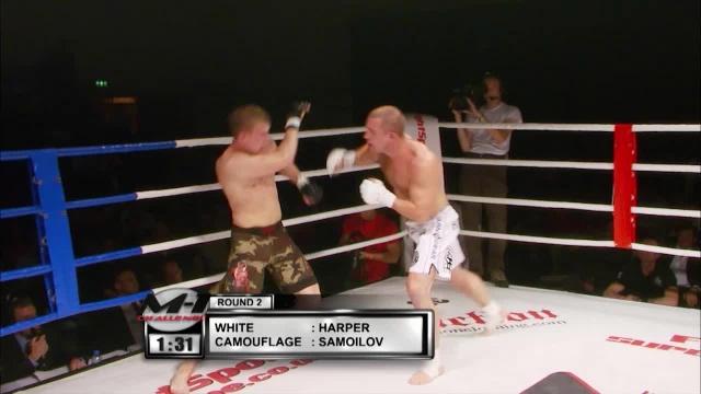 Дмитрий Самойлов vs Брайан Харпер, M-1 Challenge 07
