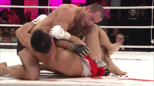 Эрик Оганов vs Романо Де Лос Рейес, M-1 Challenge 11