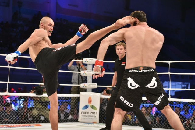 Антон Пазенко vs Батраз Агнаев, M-1 Challenge 59