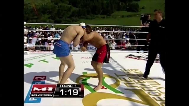 Rafal Lewon vs Yuriy Shurov, M-1 Challenge 33