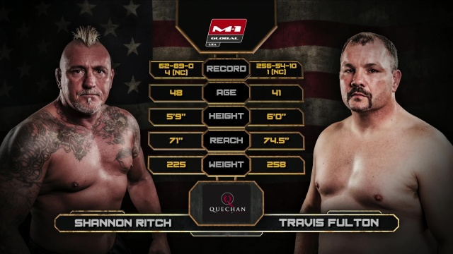Shannon Ritch vs Travis Fulton, Road to M-1: USA 2
