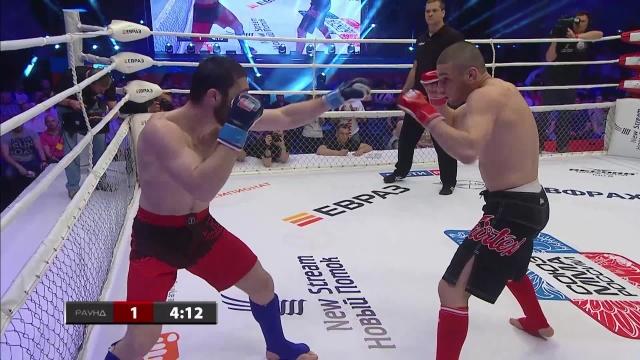 Наби Ашурлаев vs Курбан Тайгибов, M-1 Challenge 66