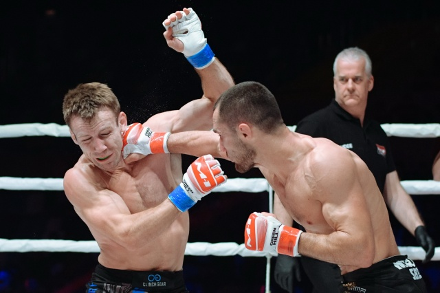 Джош Реттингхаус vs Сергей Морозов, M-1 Challenge 105