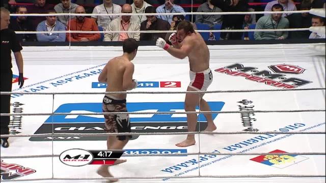 Тимур Шейхмагомедов vs Михаил Истомин, M-1 Challenge 29
