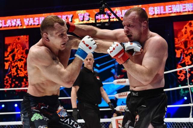 Александр Шлеменко vs Вячеслав Василевский, M-1 Challenge 64