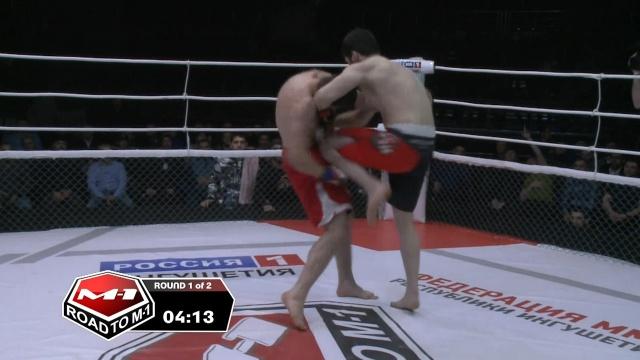 Гайдарбег Тенаев vs Бекхан Манкиев, Road to M-1