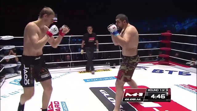 Александр Волков vs Арсен Абдулкеримов, M-1 Global - Fedor vs. Monson