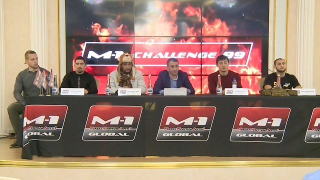 Пресс-конференция перед M-1 Challenge 99, 16 ноября, Ингушетия, Россия