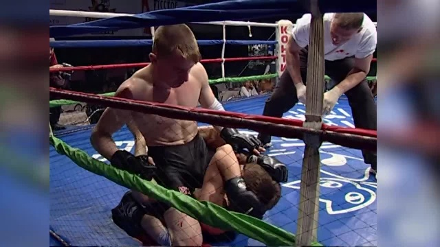 Али Эзербиев vs Денис Анисовец, Northwest Open MixFight Championship