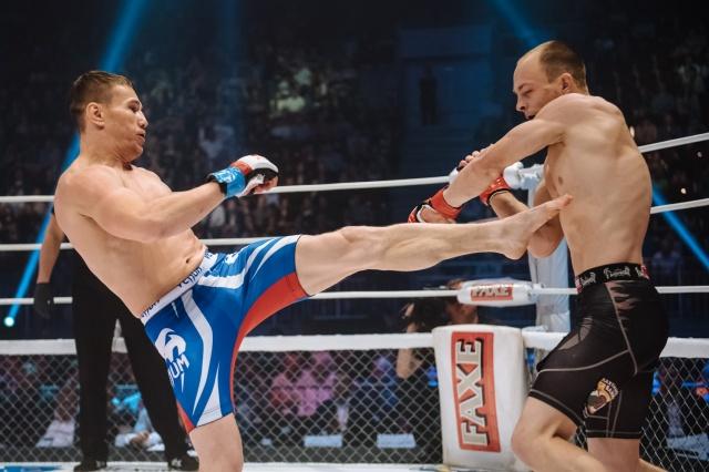 Андрей Лежнев vs Михаил Кузнецов, M-1 Challenge 68