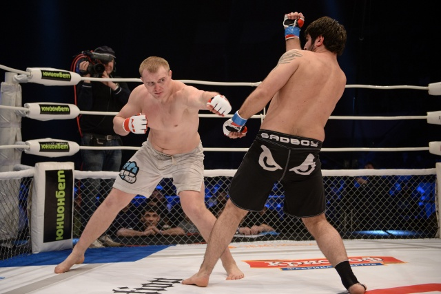 Заур Гаджибабаев vs Юрий Добко, M-1 Challenge 46
