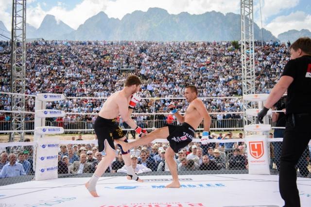 Башир Гагиев vs Сергей Андреев, M-1 Challenge 49