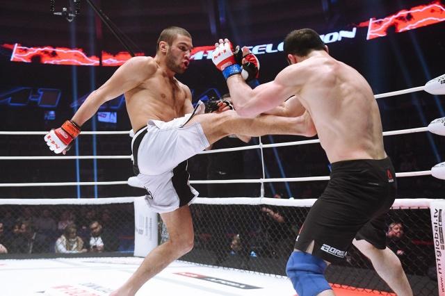 Лом-Али Нальгиев vs Курбан Тайгибов, M-1 Challenge 90