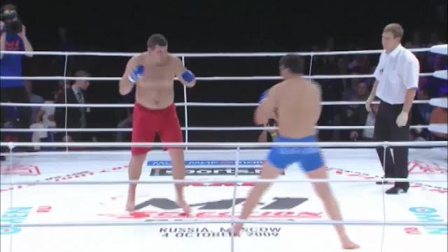 Гаджимурад Нурмагомедов vs Владимир Кученко, M-1 Selection 2009 8