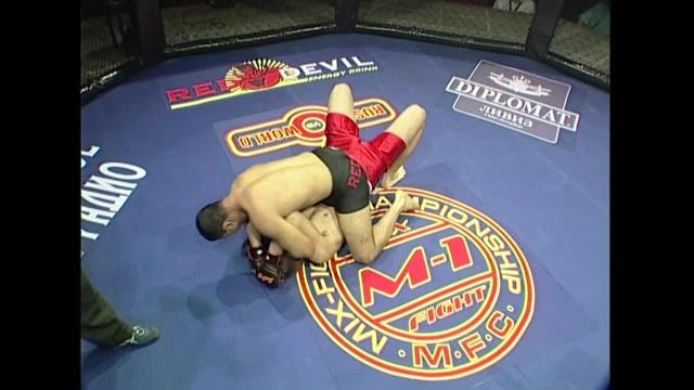 Овагим Манусаян vs Игорь Абаев, M-1 MFC - Russia vs. the World 6