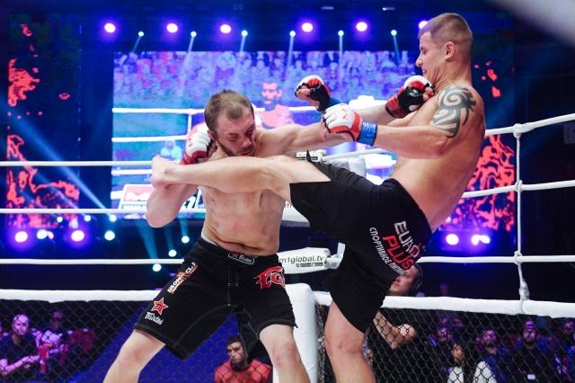 Вадим Шабадаш vs Кирилл Кузьмин, M-1 Challenge 83 & Tatfight 5