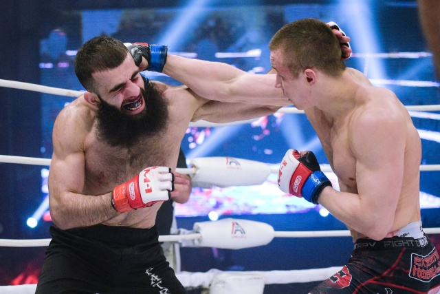 Василий Козлов vs Георгий Акошвили, M-1 Challenge Battle in Atyrau