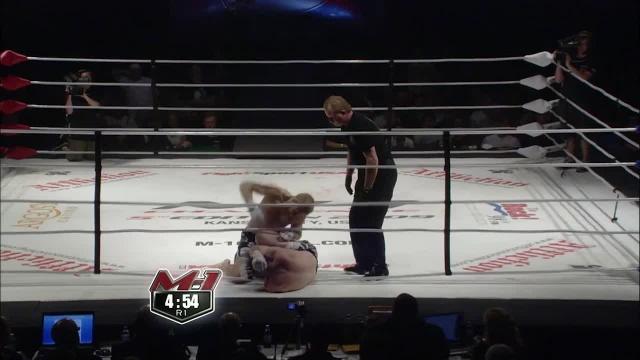 Яне Тулиринта vs Энтони Форд, M-1 Challenge 16