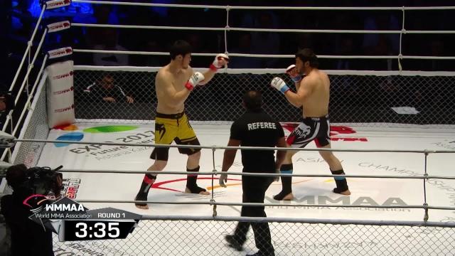 Исломджон Ализода vs Даурен Ермеков, M-1 Challenge 48