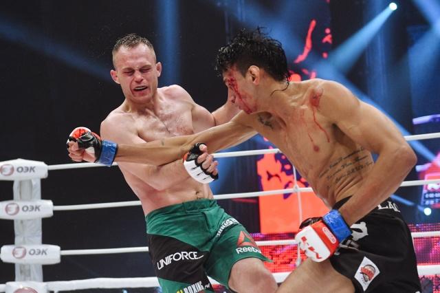 Мичел Сильва vs Алексей Махно, M-1 Challenge 79